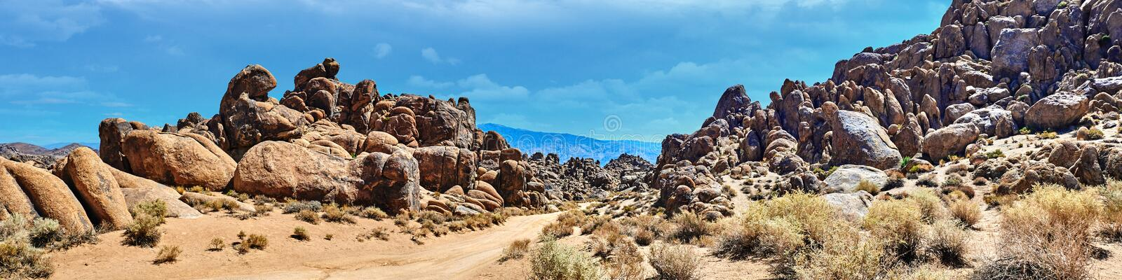 Alabama Hills, Best place to shoot westerns royalty free stock photo