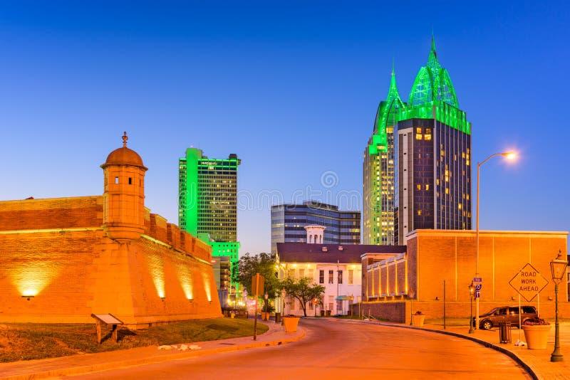 Alabama móvel EUA fotos de stock