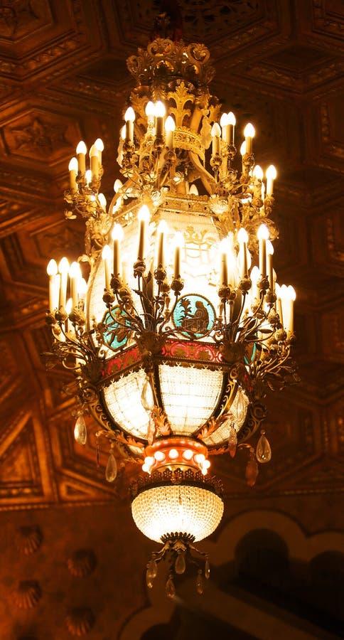 Alabama-Theater-Leuchter lizenzfreies stockbild