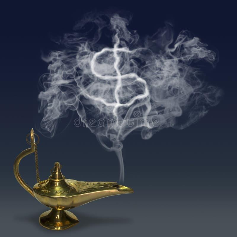 Aladdin& x27 μαγικός λαμπτήρας του s στοκ φωτογραφίες με δικαίωμα ελεύθερης χρήσης