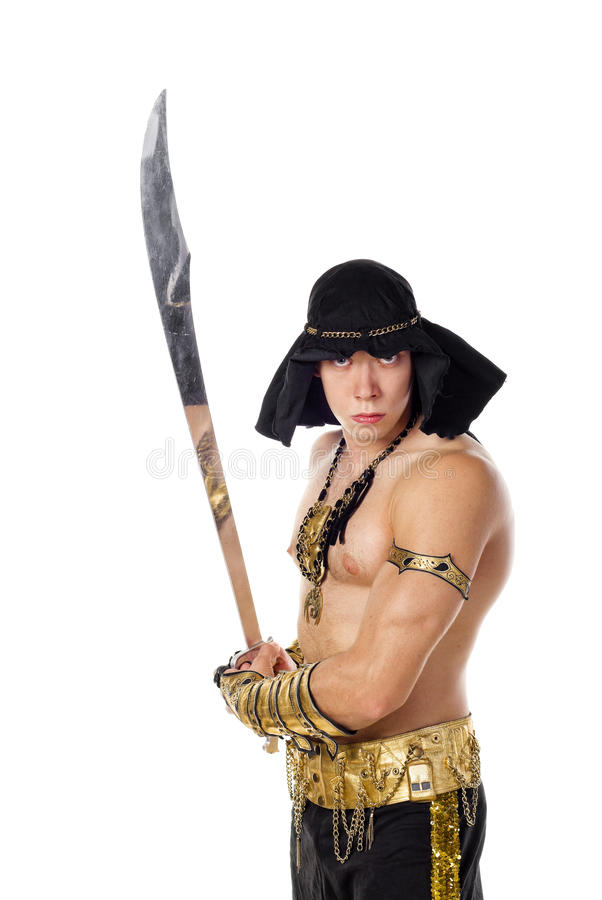 Download Aladdin stock image. Image of arabic, handsome, human - 15594027