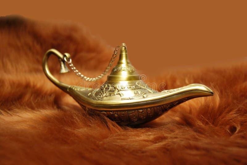 Aladdin lamp royalty free stock images
