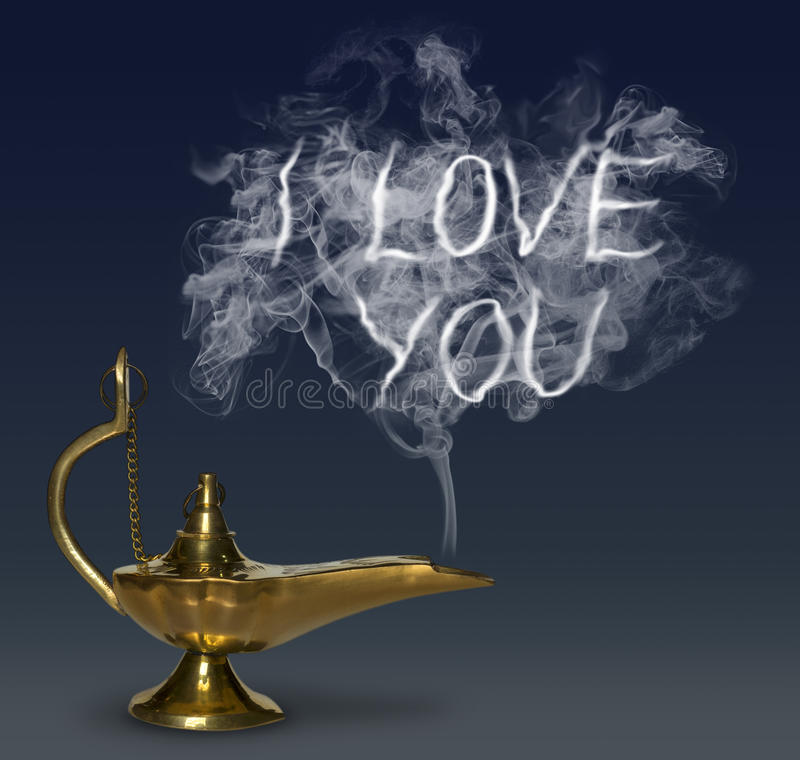 Aladdin's Magic Lamp royalty free stock image