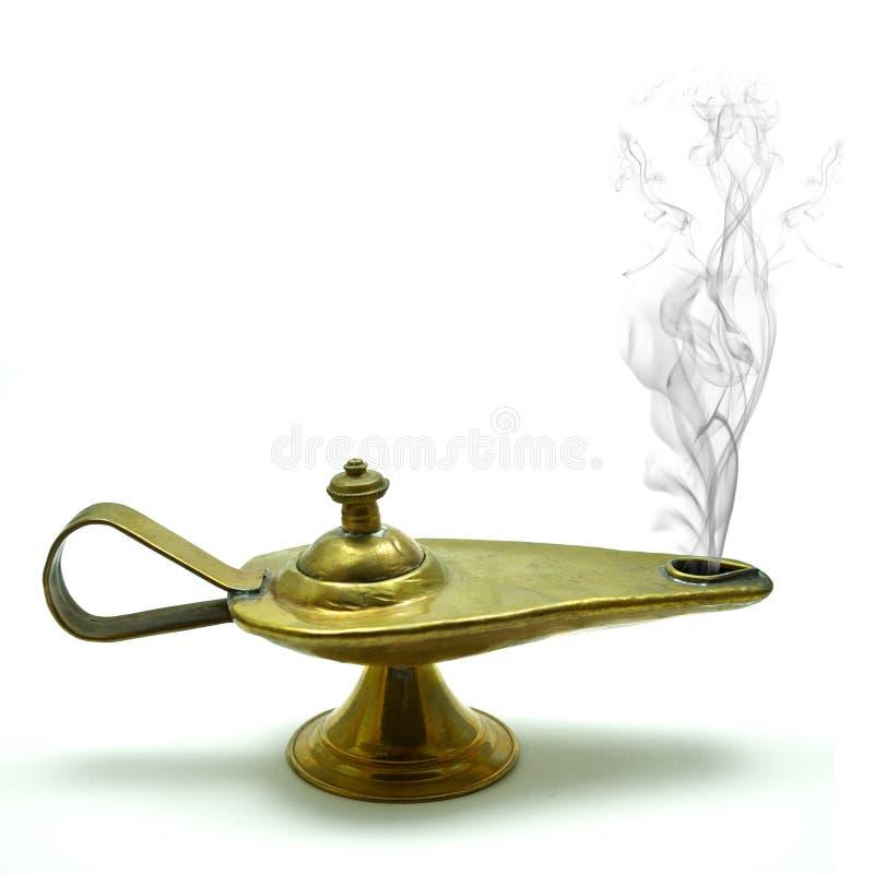 Download Aladin´s magic lamp stock photo. Image of gold, polish - 16795494