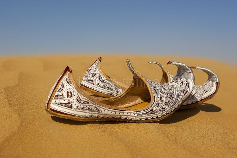 Aladins verlor Schuhe lizenzfreies stockfoto