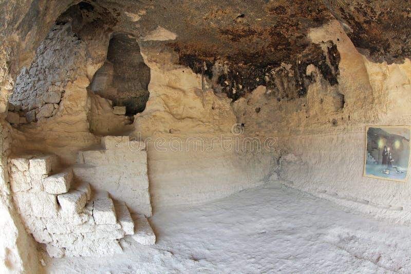 ALADZA-rotsklooster, Bulgarije royalty-vrije stock foto's