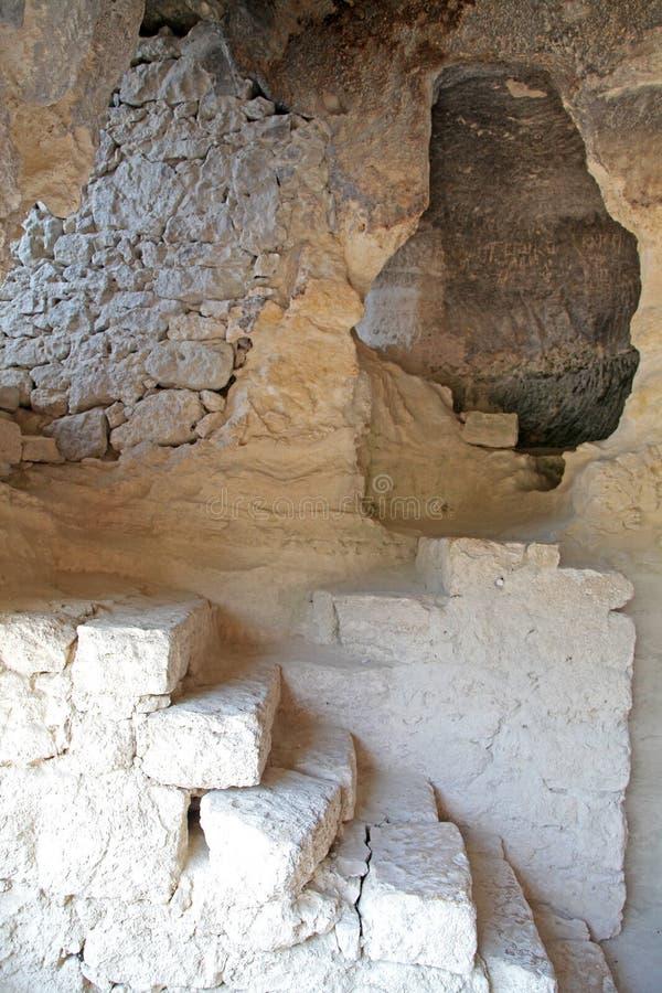 ALADZA skały monaster, Bułgaria zdjęcia stock