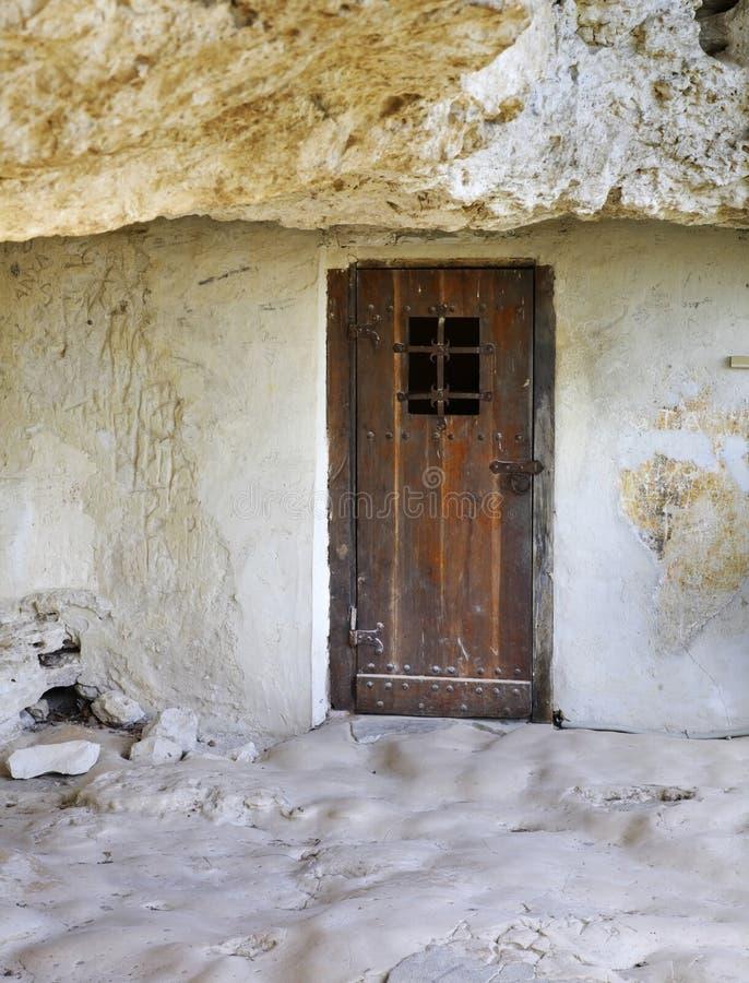 Aladzhaklooster - Orthodox Christelijk complex holklooster bulgarije royalty-vrije stock afbeeldingen