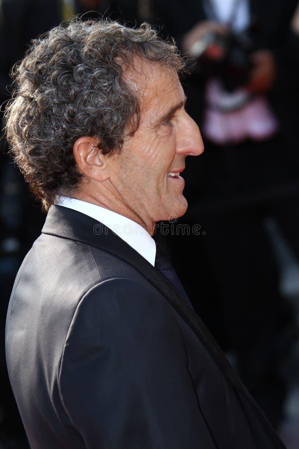 Alain Prost fotografia de stock royalty free