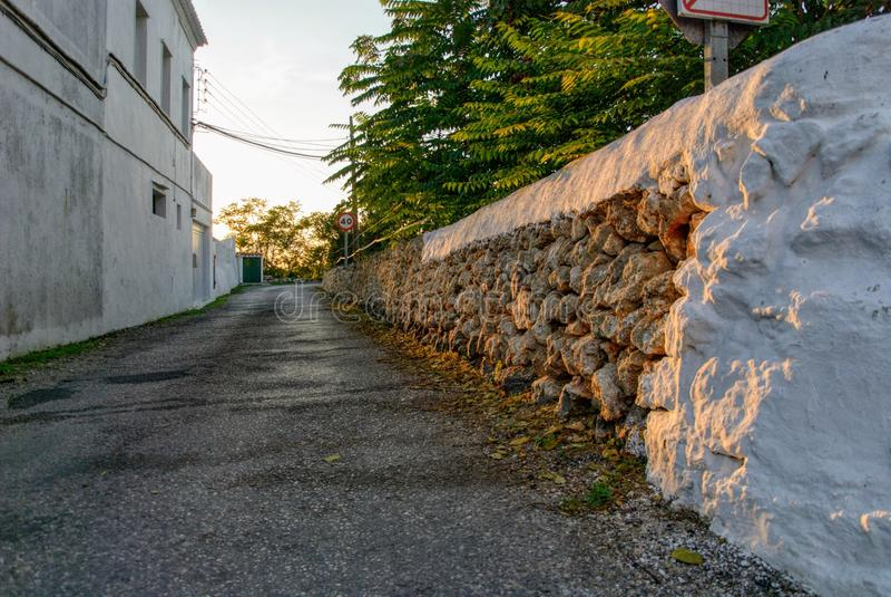 Alaior απόγευμα, Menorca, Βαλεαρίδες Νήσοι, Ισπανία στοκ φωτογραφία με δικαίωμα ελεύθερης χρήσης
