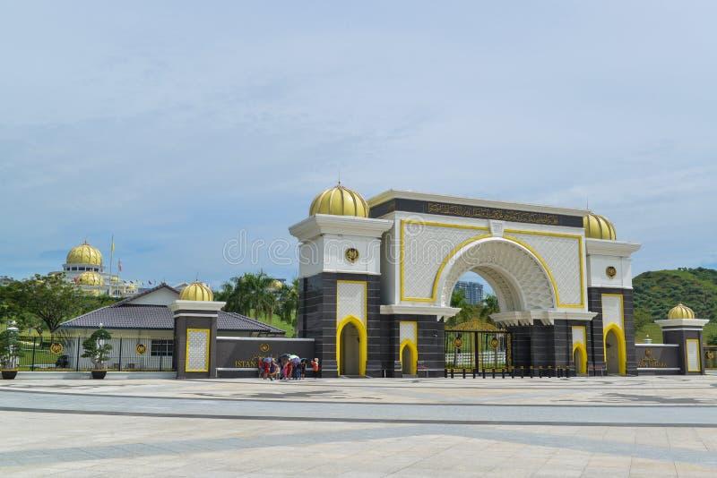 Alam Shah - kunglig slott av Malaysia royaltyfri foto