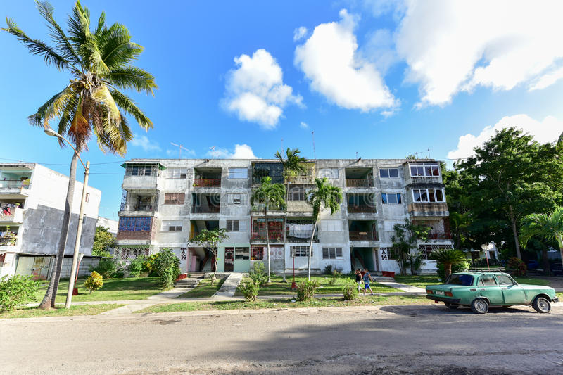 Alamar - Havana, Kuba lizenzfreie stockfotografie