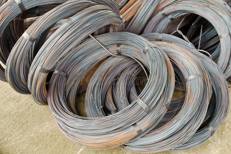 Alambre del cable imagen de archivo libre de regalías