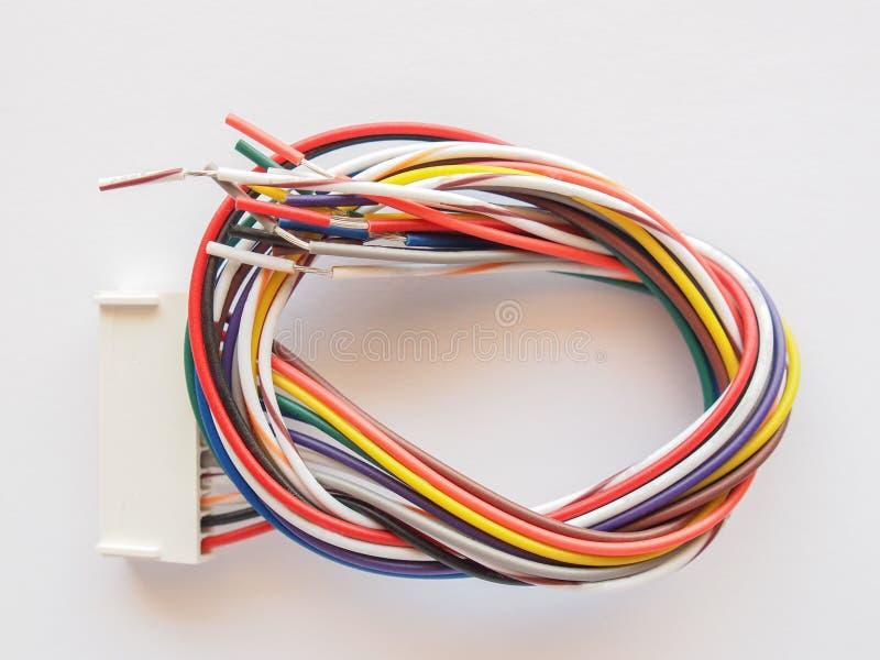 Download Alambre eléctrico foto de archivo. Imagen de cable, conector - 42431610