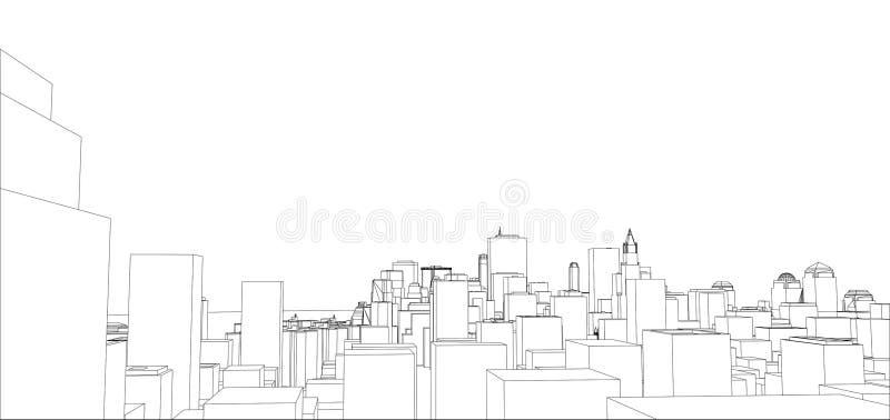 Alambre-marco New York City, estilo del modelo
