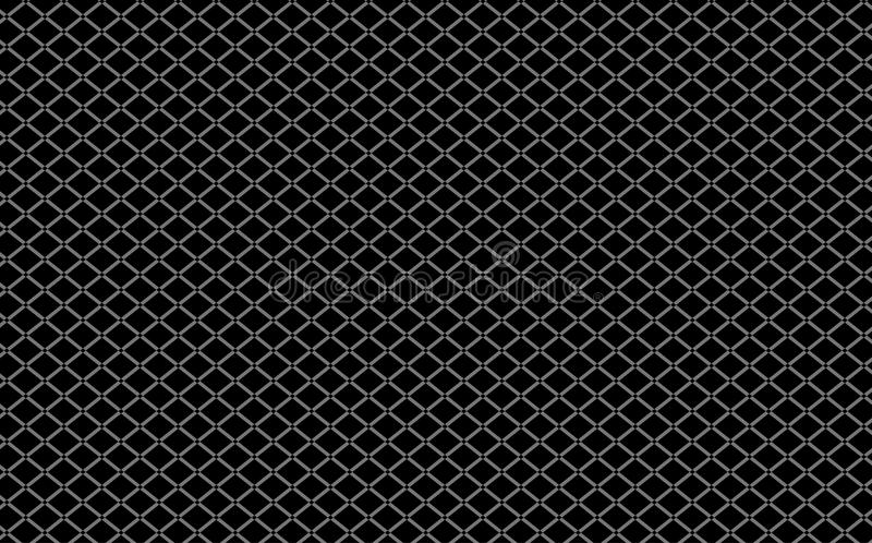 Alambre Mesh Black Background imagenes de archivo