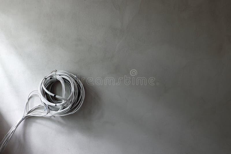 Alambres eléctricos imagen de archivo