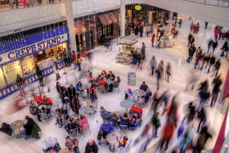 A alameda de América é Major Shopping Center no Citie gêmeo fotos de stock