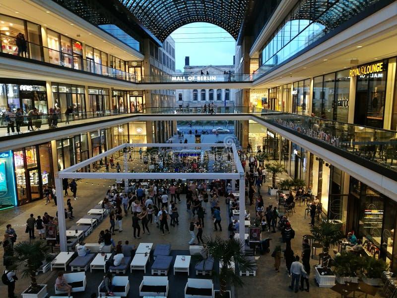 Alameda de Berlim foto de stock