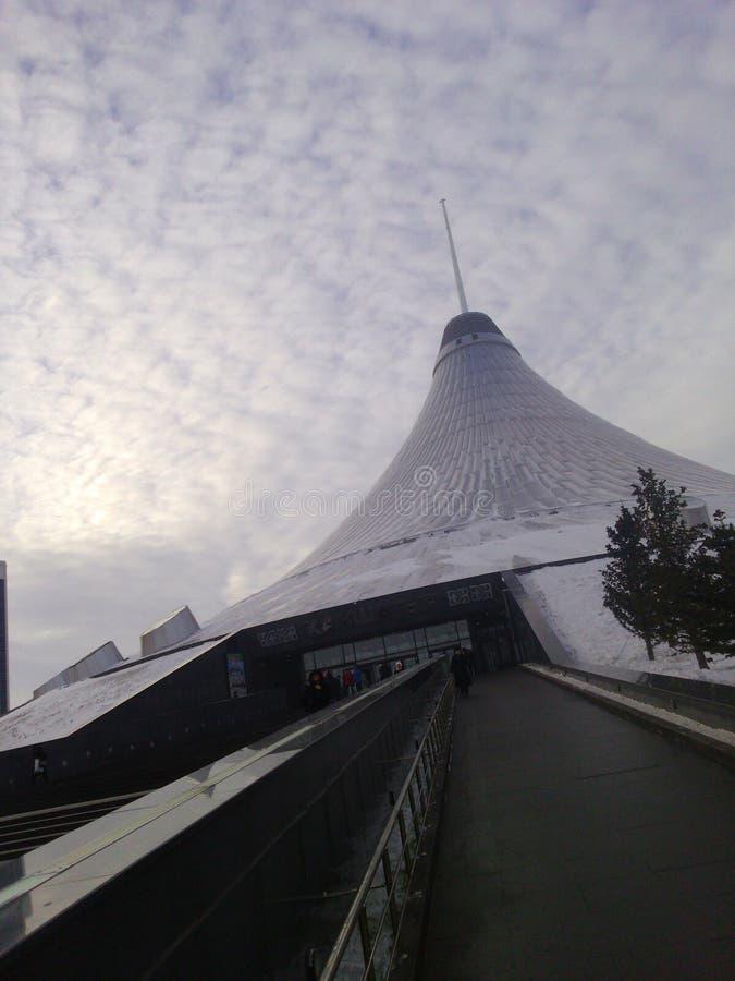 Alameda de Cazaquistão fotografia de stock royalty free
