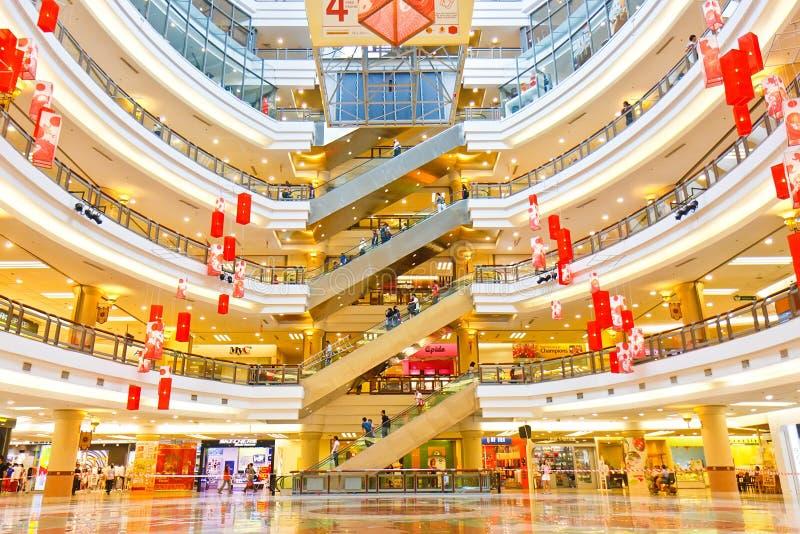 Alameda de compra 1Utama, Malaysia fotografia de stock royalty free