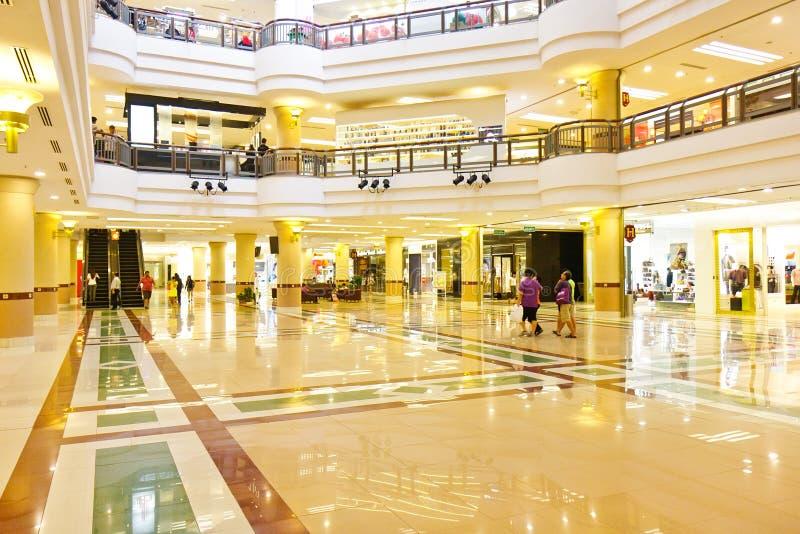 Alameda de compra, 1Utama, Malaysia foto de stock