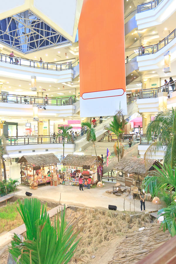 Alameda de compra Malaysia imagens de stock royalty free