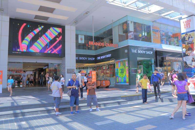 Alameda de compras de Fahrenheit 88 Kuala Lumpur fotografía de archivo