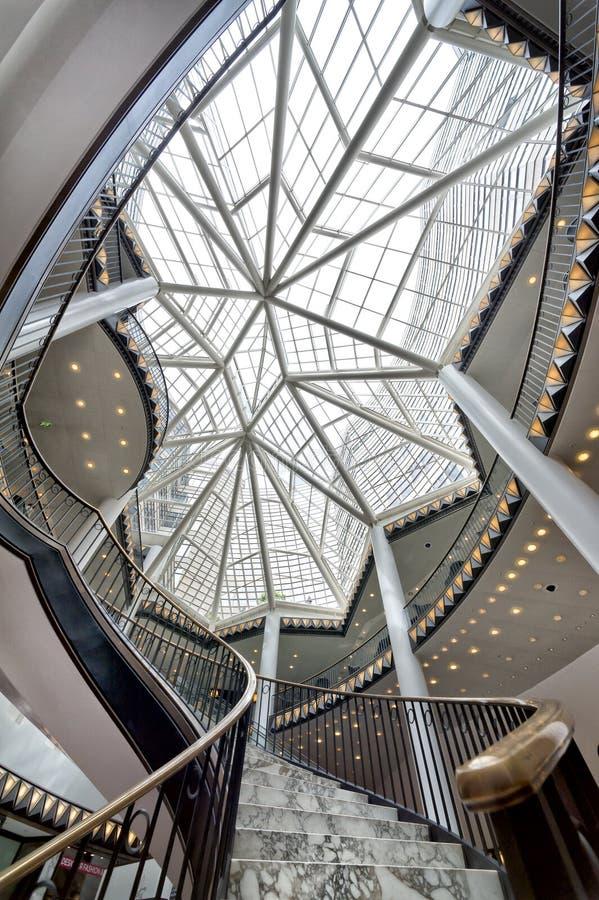 Alameda de compras de lujo en Berlín foto de archivo libre de regalías