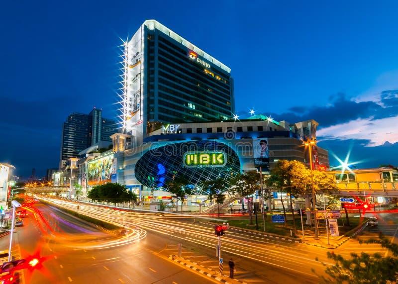 Alameda de compras de MBK, Bangkok, Tailandia imagen de archivo libre de regalías