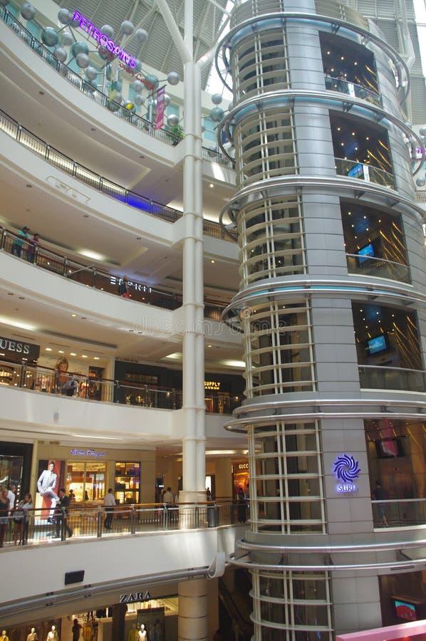 Alameda de compras Suria KLCC fotografía de archivo