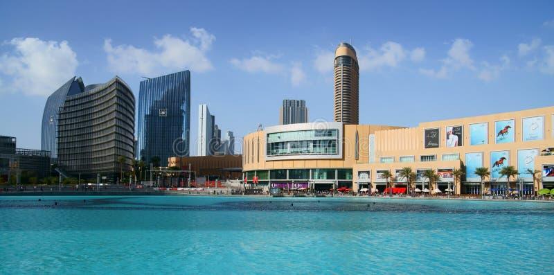 Alameda de Dubai imagem de stock royalty free