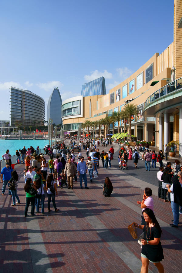 Alameda de Dubai foto de stock royalty free