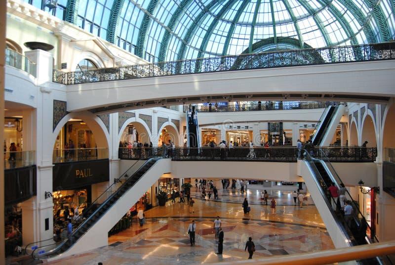 Alameda de Dubai fotografia de stock royalty free
