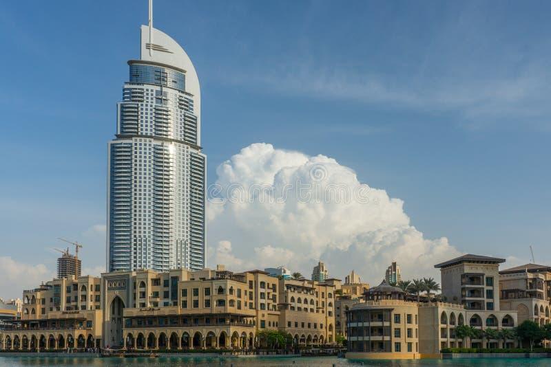 Alameda de Dubai foto de archivo libre de regalías