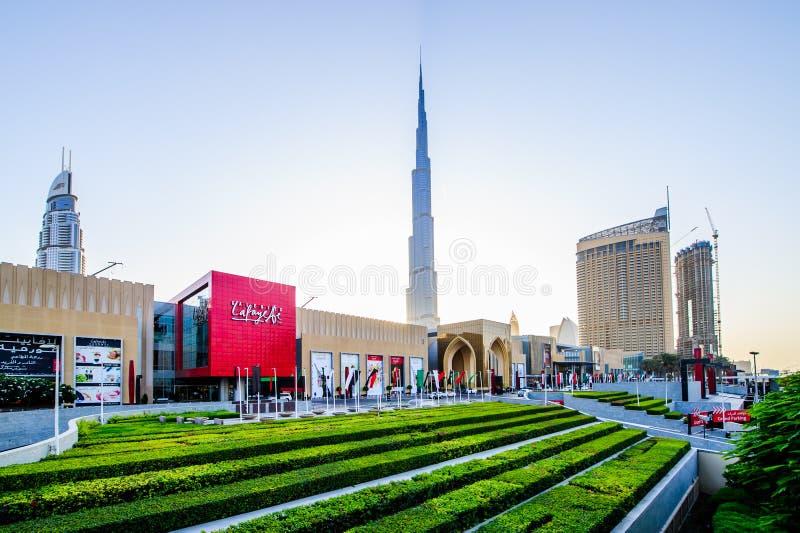 Alameda de Dubai fotografia de stock