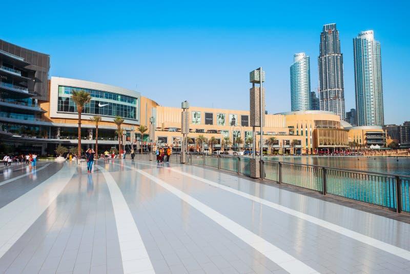 Alameda de Dubai em Dubai, UAE foto de stock