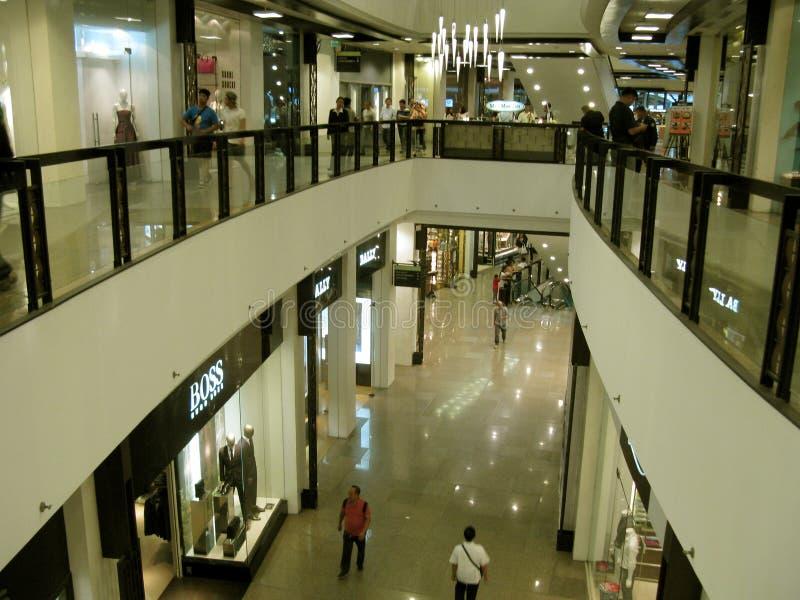 Alameda de la zona verde 5, Makati, Filipinas imagen de archivo libre de regalías
