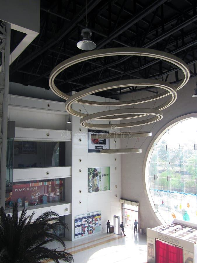 Alameda de Magnetto (interior) - Raipur imagem de stock royalty free