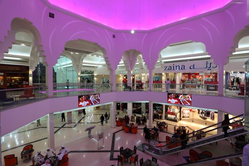 Alameda de Seef em Manama, reino de Barém foto de stock royalty free