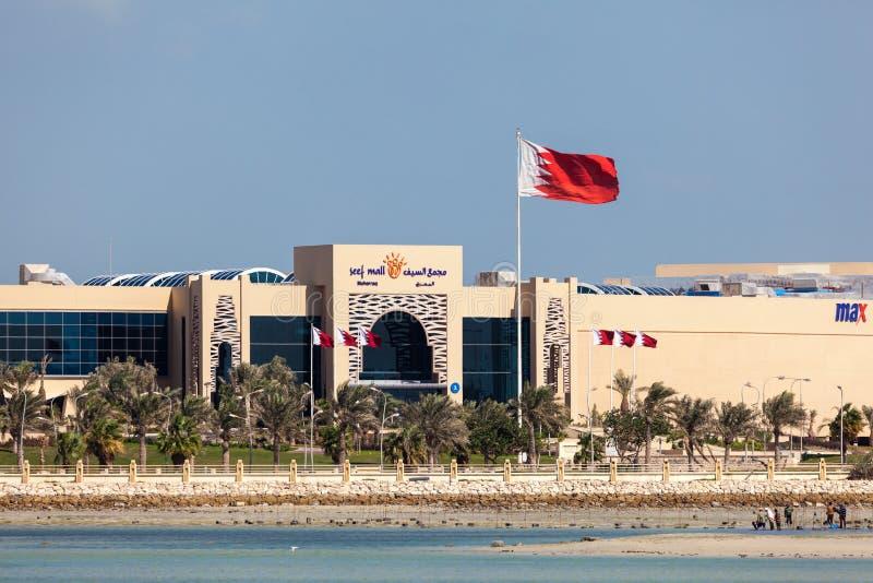 Alameda de Seef em Muharraq, Barém imagem de stock royalty free
