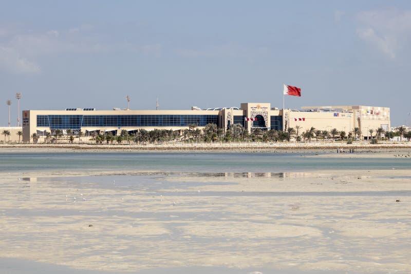 Alameda de Seef em Muharraq, Barém foto de stock royalty free
