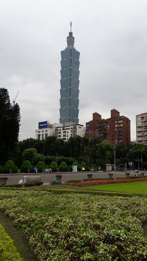Alameda de Taipei 101 fotos de stock royalty free