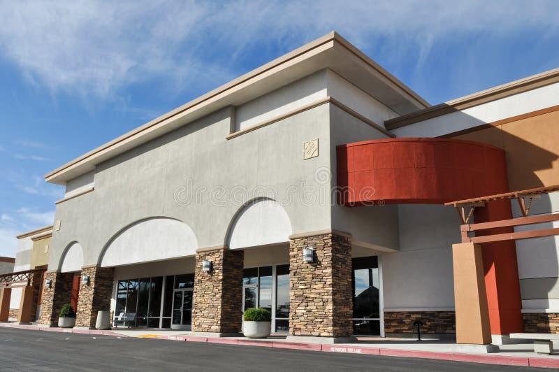 Alameda de tira do centro comercial imagens de stock