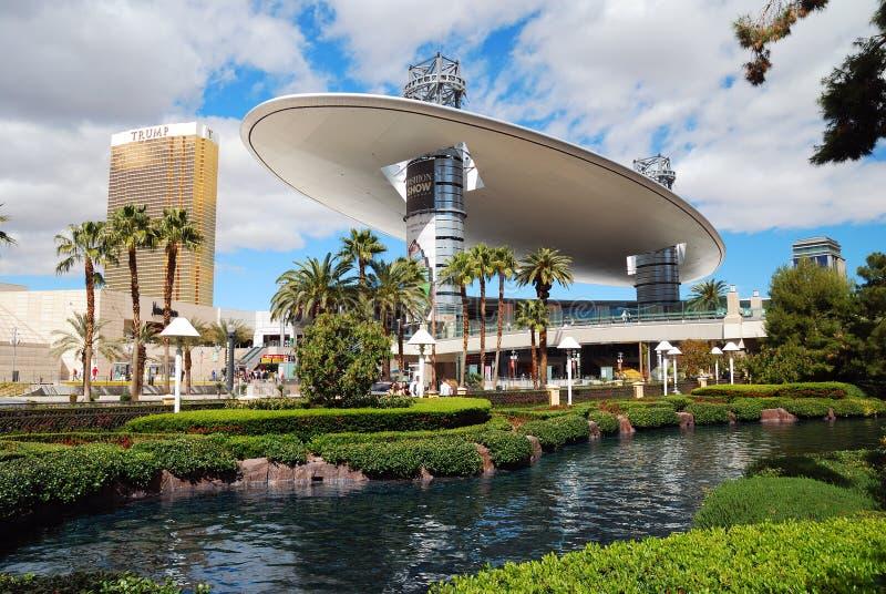 Alameda del desfile de moda, Las Vegas, Nevada fotografía de archivo