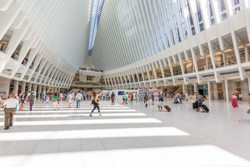 Alameda del World Trade Center imagen de archivo