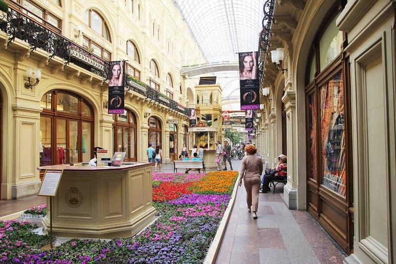 Alameda Moscou da goma foto de stock royalty free