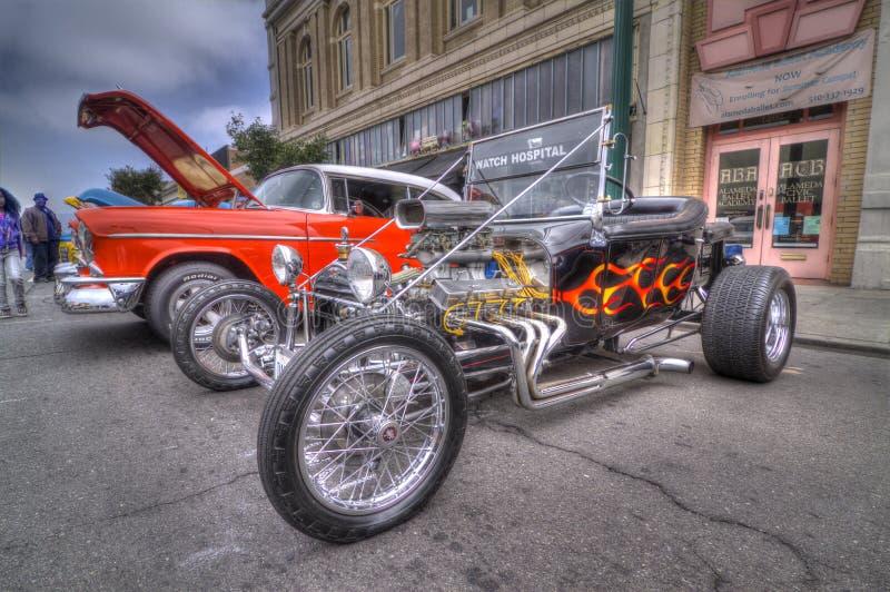 Alameda parka Uliczny Klasyczny car show 2013 zdjęcie stock