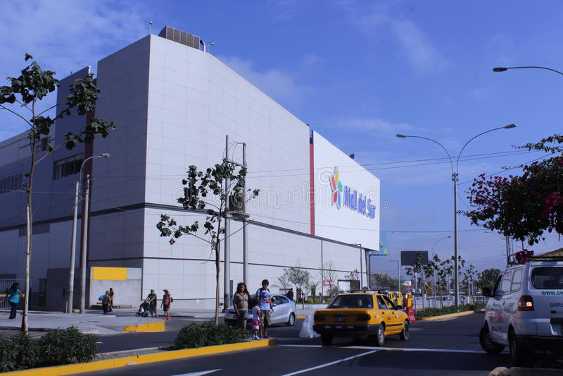 Alameda San Juan foto de archivo