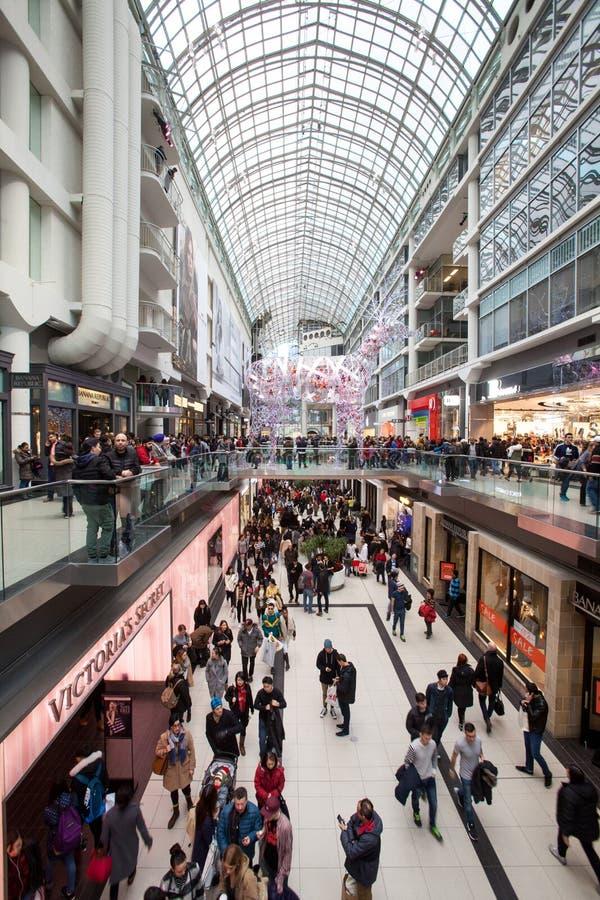 Alameda Toronto de Eaton Centro comercial fotos de stock royalty free